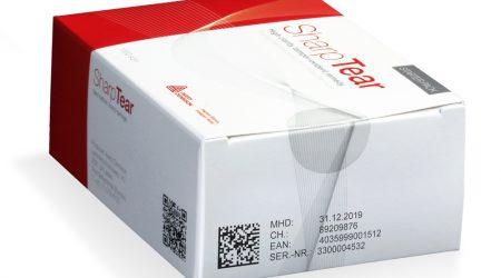 emballage de médicaments avec une étiquette tamper-evident
