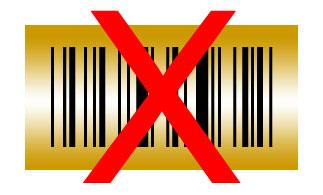 Barcode gold