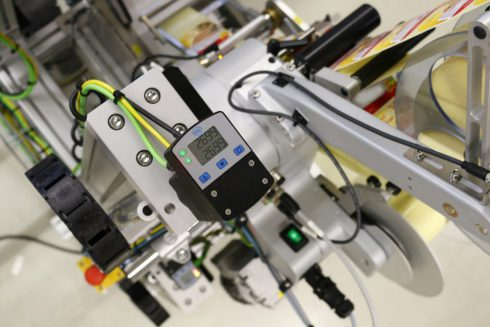 labeling system Geset 314 ZDT with digital display