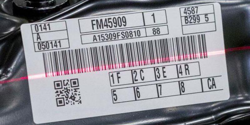 Scannez une étiquette de code-barres
