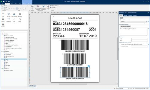 Etikettensoftware NiceLabel bei Bluhm Systeme
