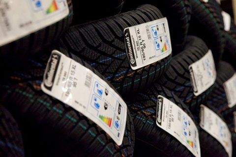 Continental tyre labels